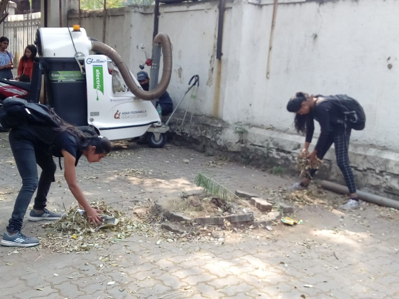 SP-Campus Cleanliness Drive NSS