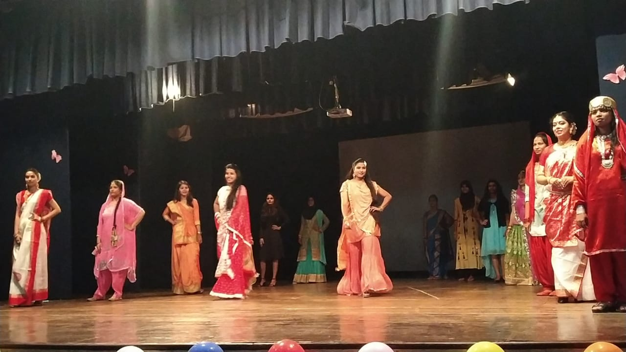 EBSB - Annual Socials Degree College2019 - 20- Fashion show depicting Indian culture