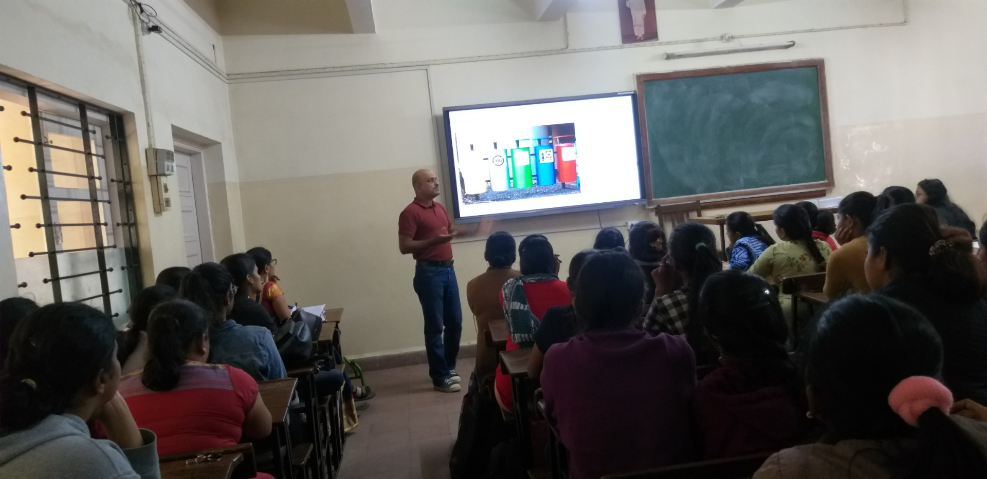 Guest Lecture on Innovative Technologies for Waste Recycling and Energy Conservation_18-01-2020