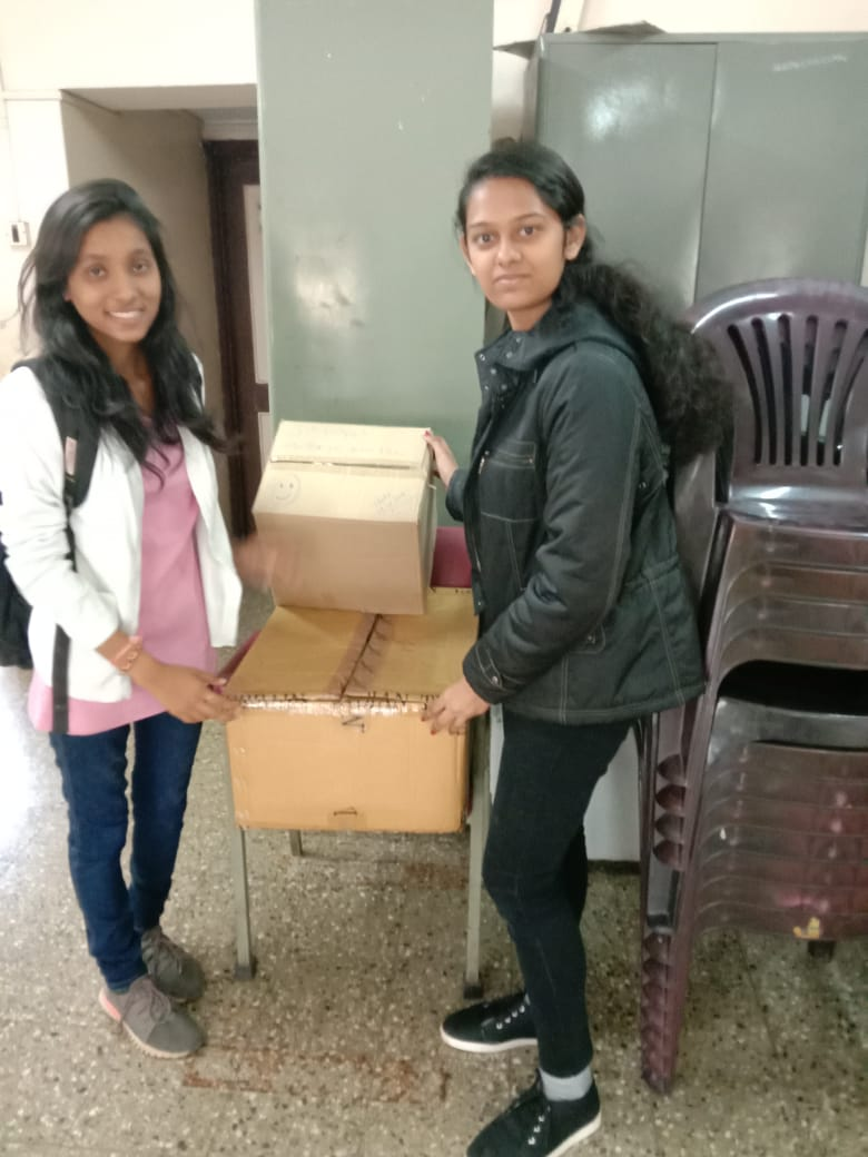 Stationery collected by Volunteers