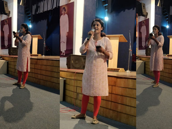 Ankita Singh's poetry performances, powerful and poignant.