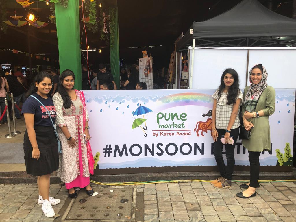 At the monsoon market