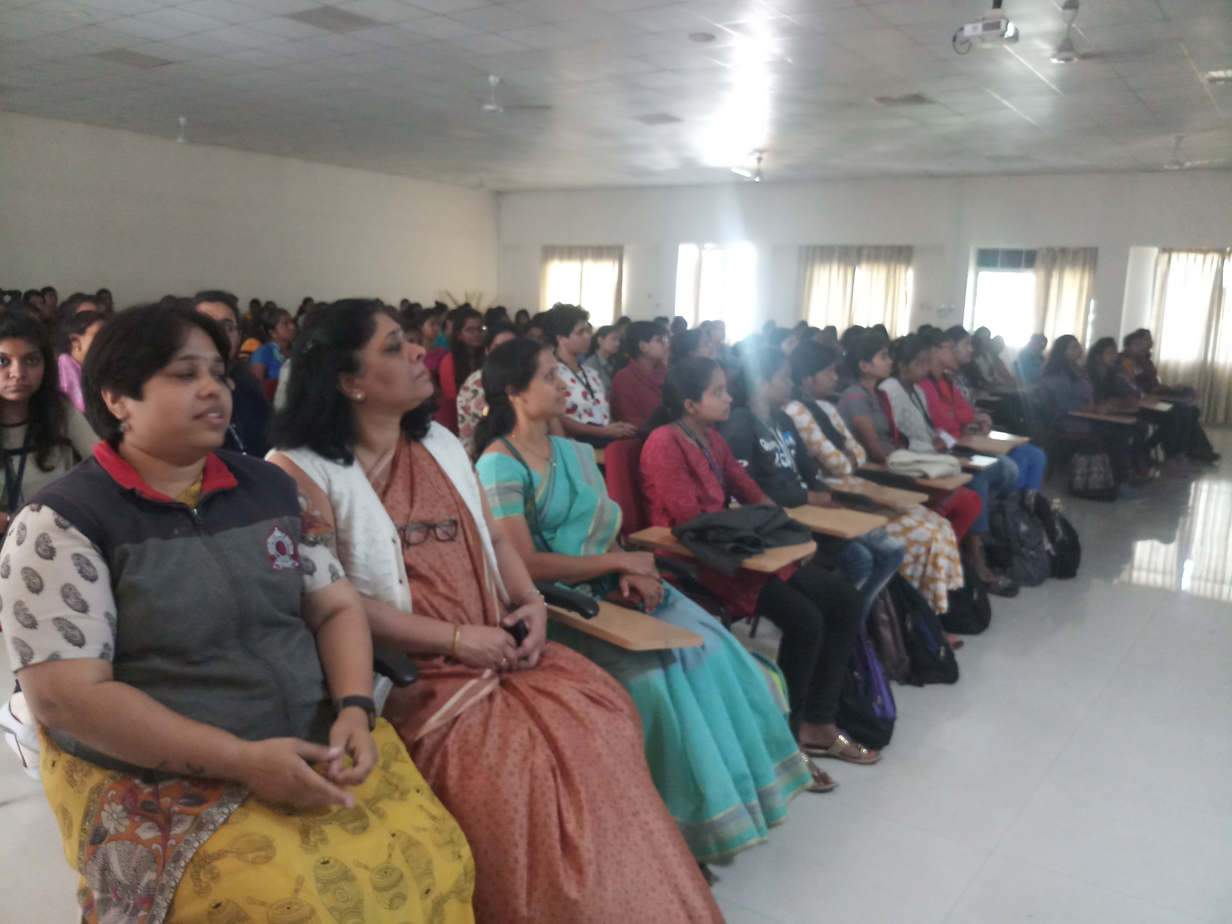 Audience for live screening of Parliament proceedings- Constitution day 2019