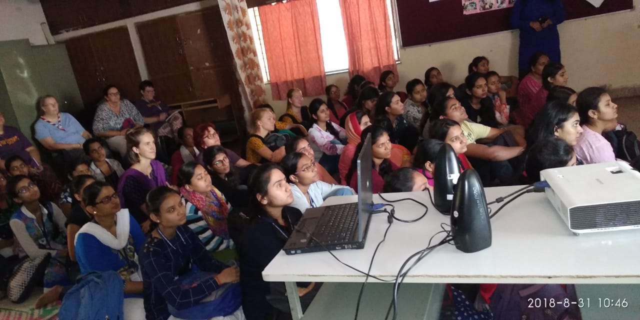 Our students getting informed at DeepGriha
