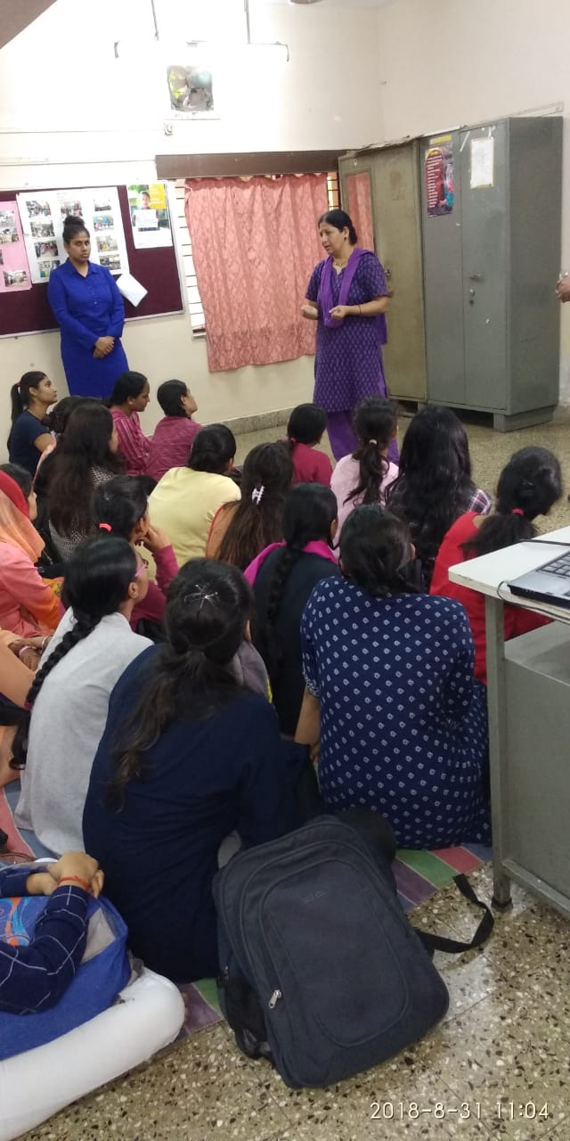 DeepGriha officials orienting our students