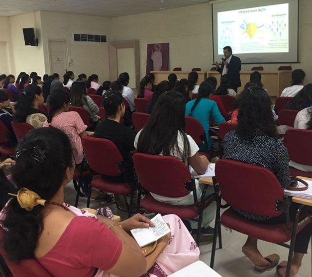 Guest Lecture on Trends in HRM: Mr. Arun Sharma