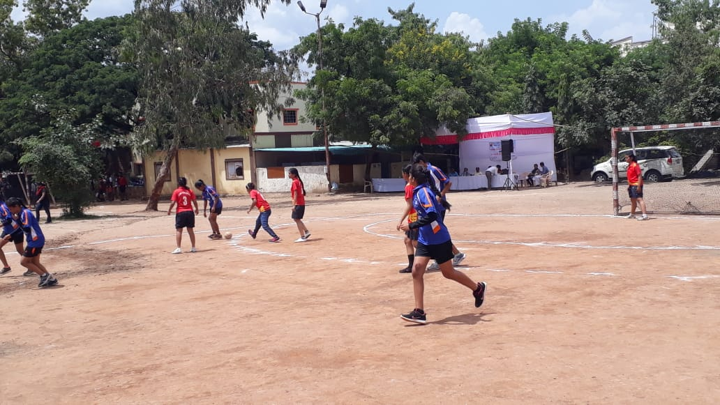 Jr College Hand ball ZP Competition- Second Place 2