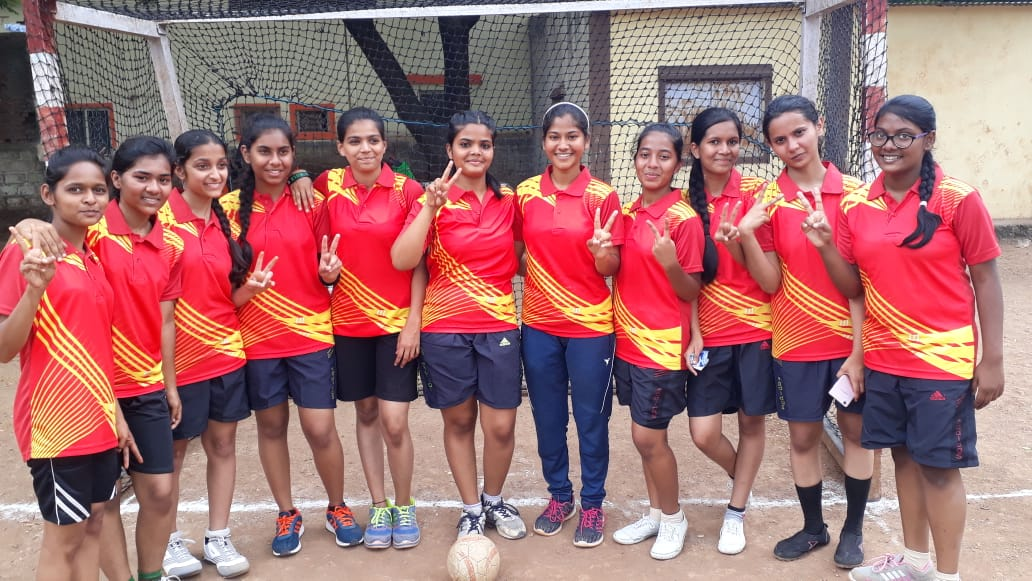 Jr College Hand ball ZP Competition- Second Place.