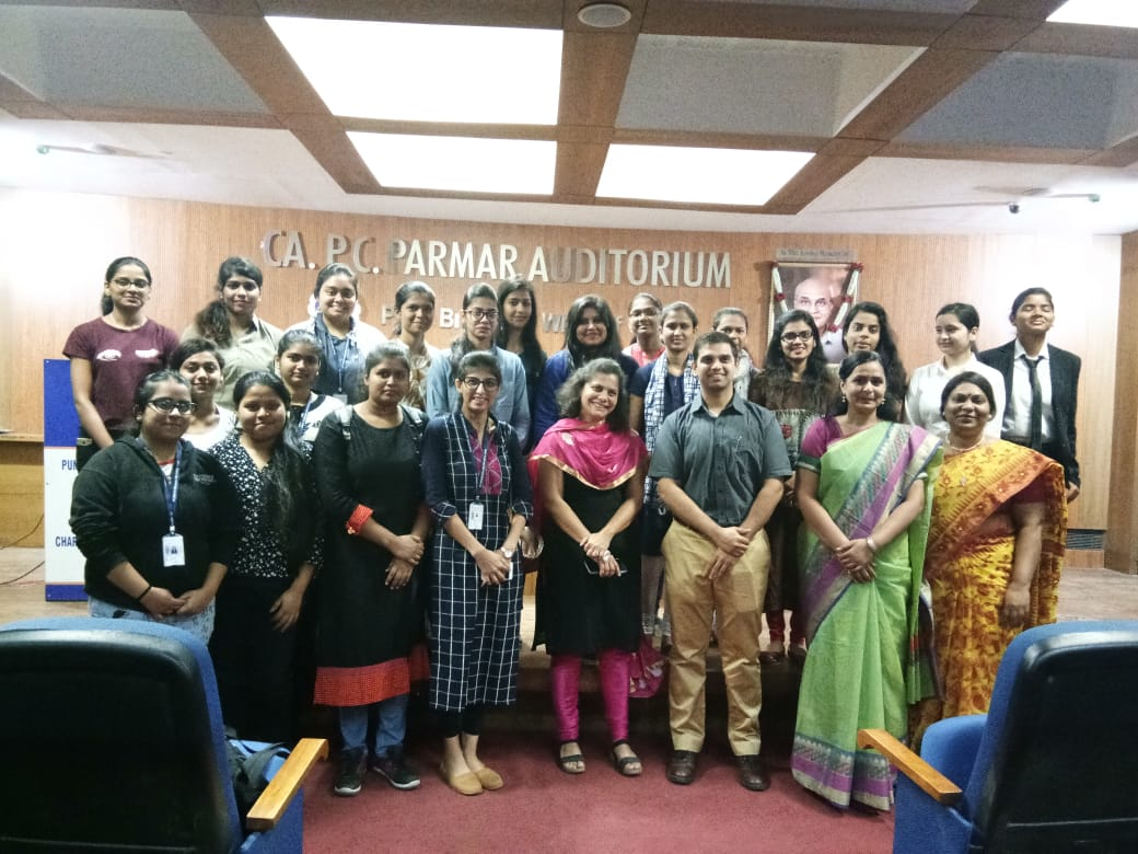 ICAI Bhawan - Orientation programme for our students by ICAI