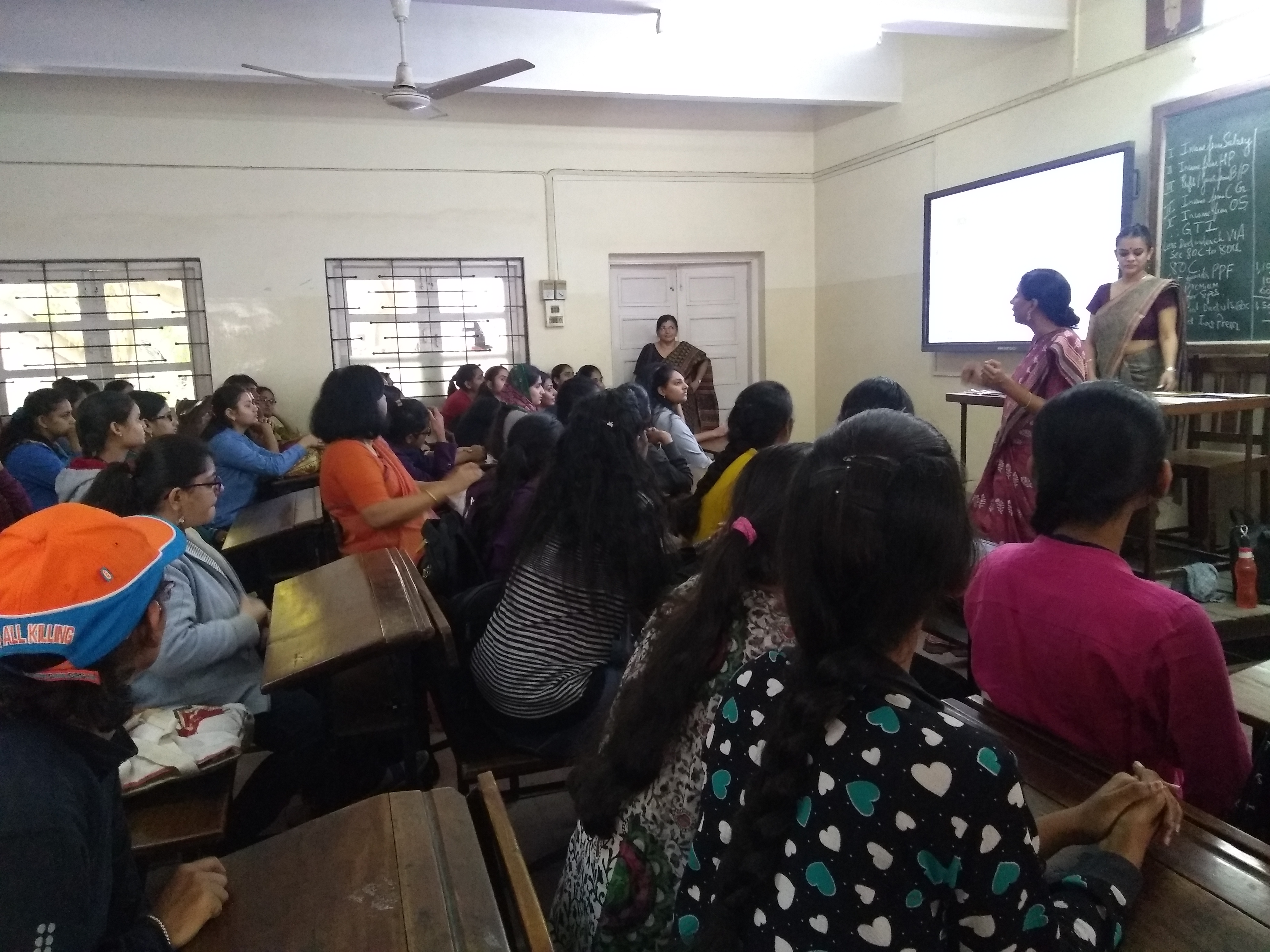 Eco Dept(Orientation Session by PRAYATNA for people with special needs)  Room 101 [08-12-2018]