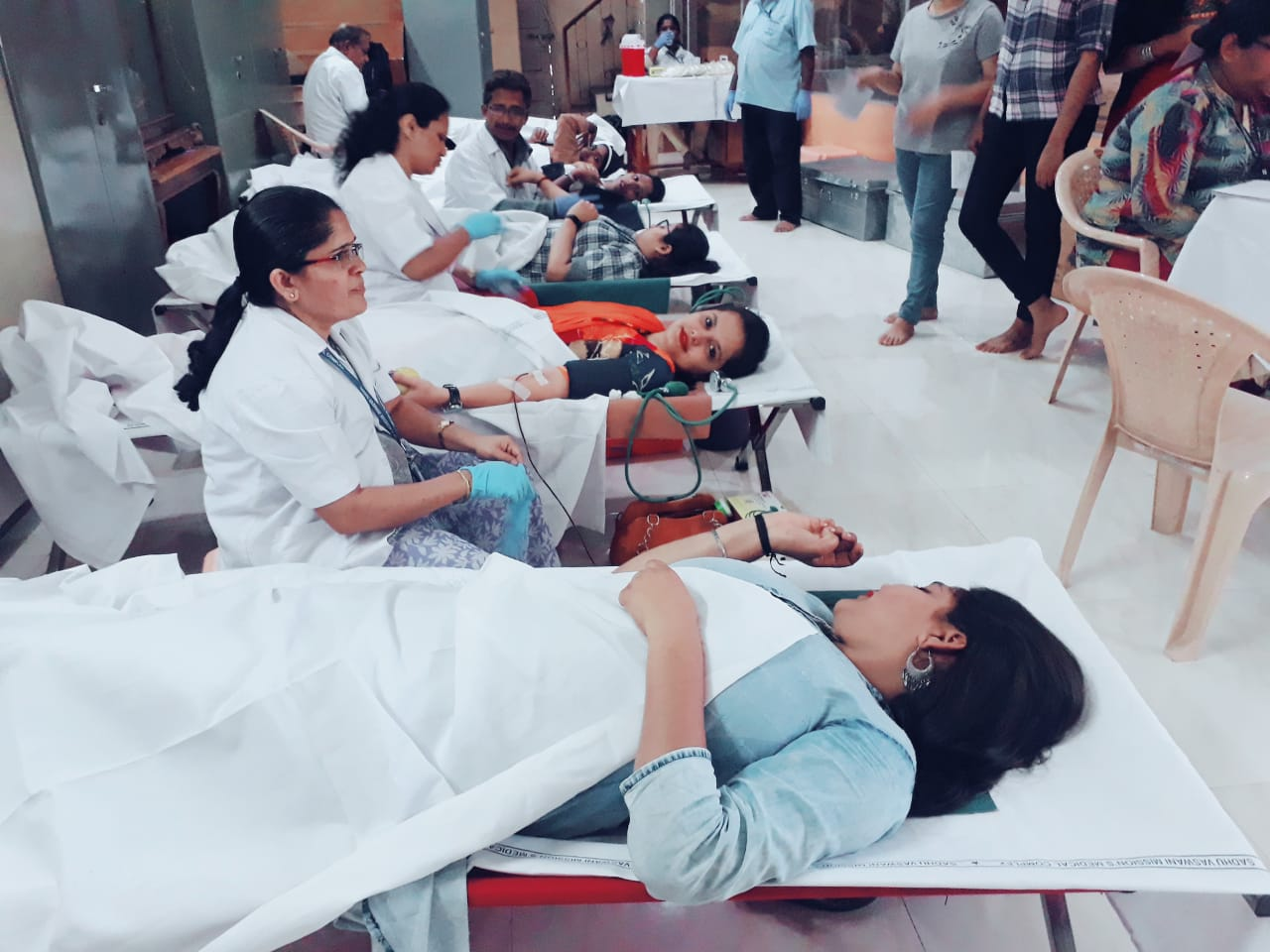 NSS-Blood Donation Camp 2018