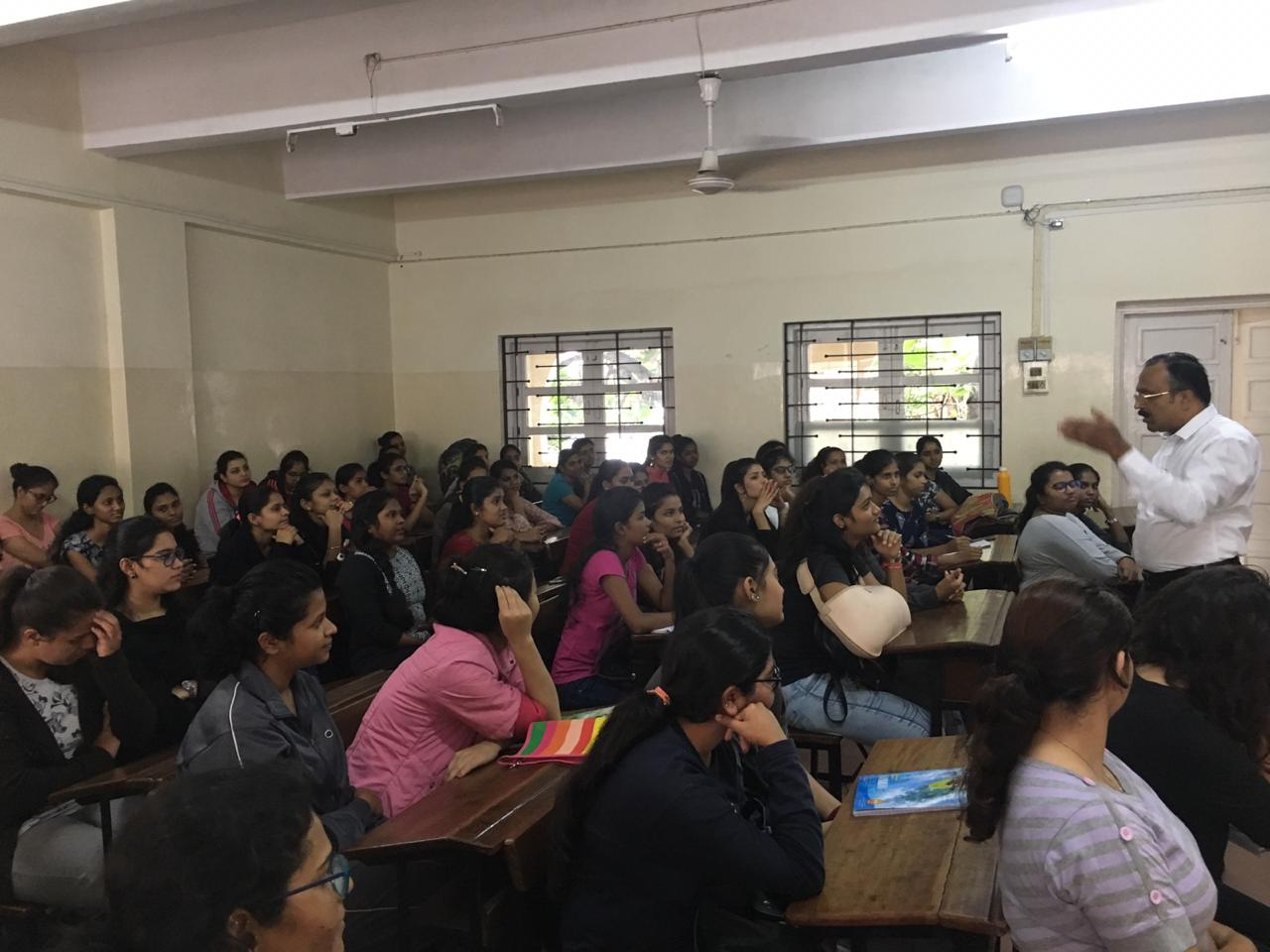 Orientation session for students of SY B.Com