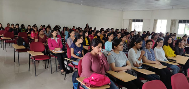 Students of First and Second Year BBA at the Guest Lecture on Practical aspects of Economics