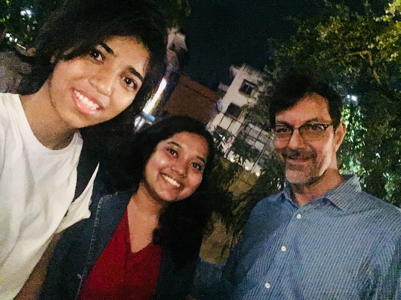 Students with Rajat Kapoor