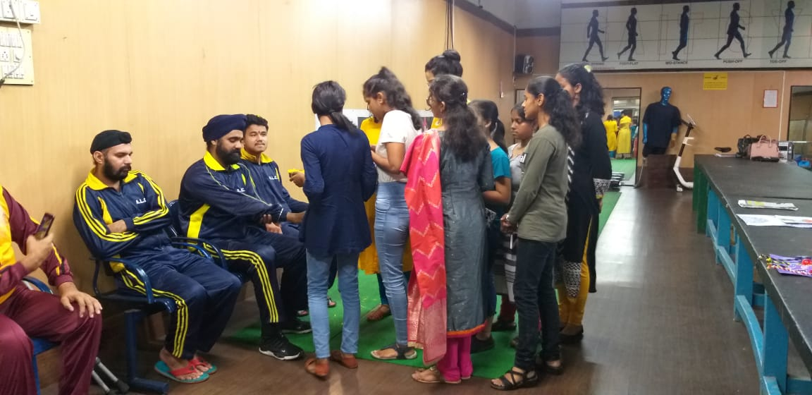 Green Club Visit on 8th Aug, 2019 to Artificial Limb Centre, Pune for Rakshabandhan