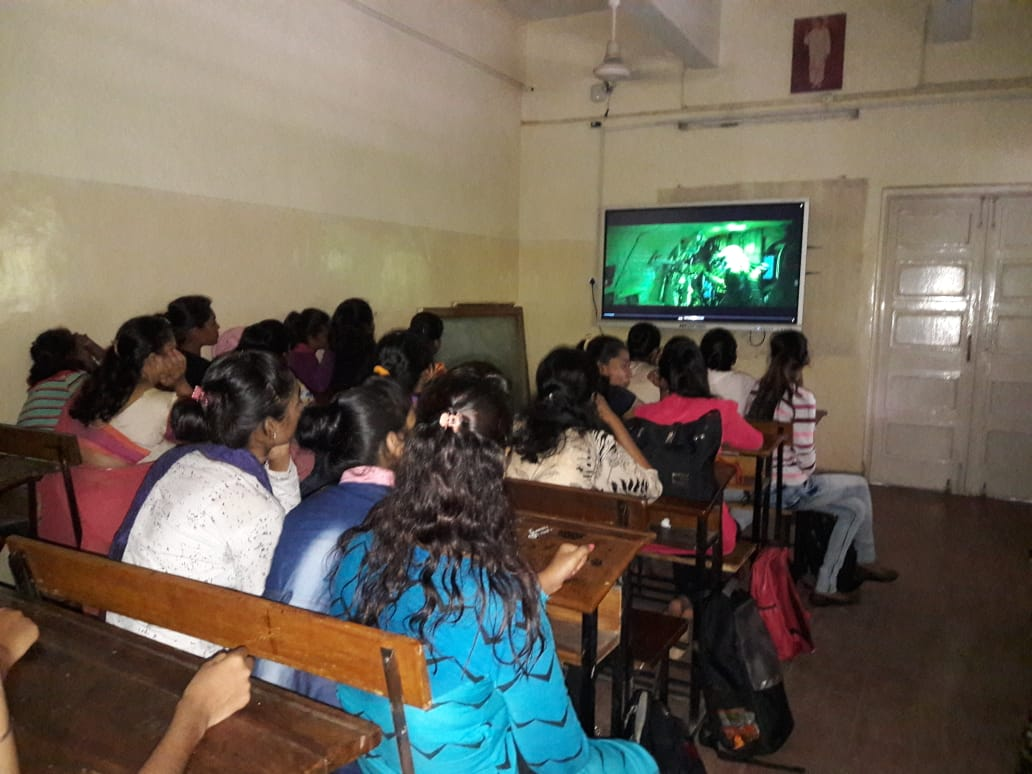 Dept of Politics and Pub Adm- Screening of movie - URI - The Surgical Strike on the occassion of Kargil Vijay Diwas